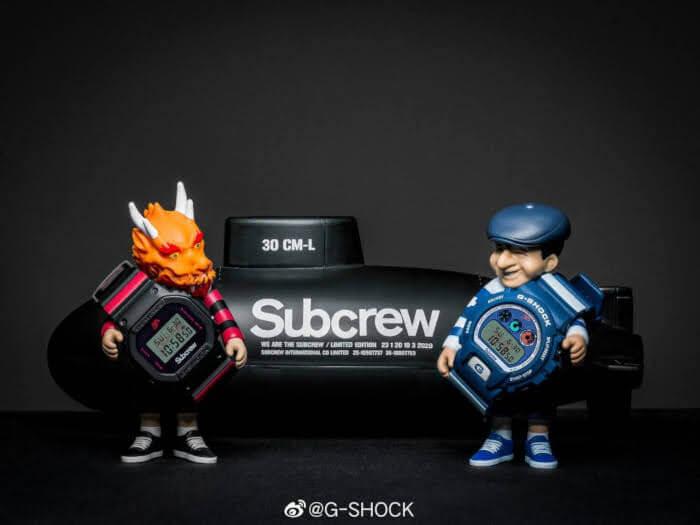 Steve Caballero x Subcrew x G-Shock DW-5600 and DW-6900 DW-5600SSC20-1PRSSS DW-6900SBC20-2PRSSS