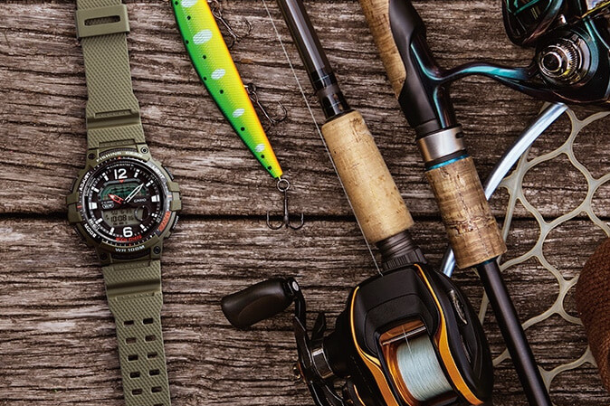 Casio Fishing Gear Watches