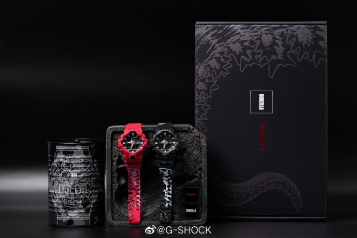 Godzilla x G-Shock Box Set