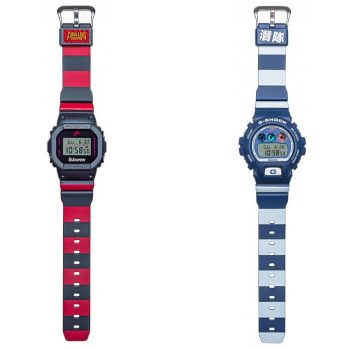 Steve Caballero x Subcrew x G-Shock DW-5600 and DW-6900 Bands