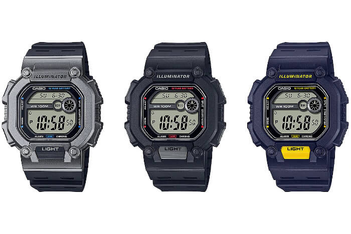 Casio W-737H Series