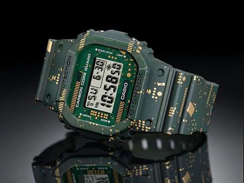 G-Shock DWE-5600 Carbon Core Guard Square DWE-5600CC-3