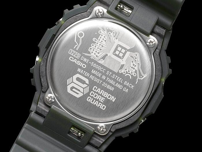 G-Shock DWE-5600CC-3 Case Back