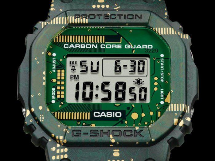 G-Shock DWE-5600CC-3 Face and Bezel