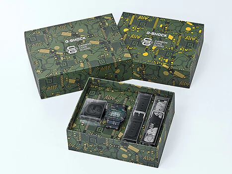 G-Shock DWE-5600CC-3 Box