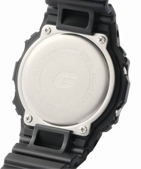Edifice x G-Shock DW-5600 Case Back