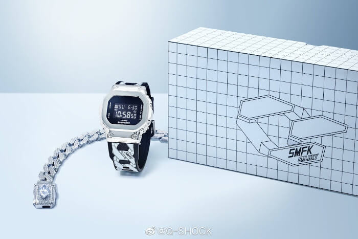 SMFK x G-Shock GM-S5600 Box