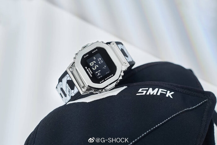 SMFK x G-Shock GM-S5600 Collaboration Watch