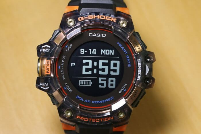 G-Shock GBD-H1000-1A4 Black and Orange