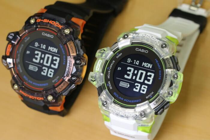 G-Shock GBD-H1000-1A4 & GBD-H1000-7A9 Sport Skeleton Colors