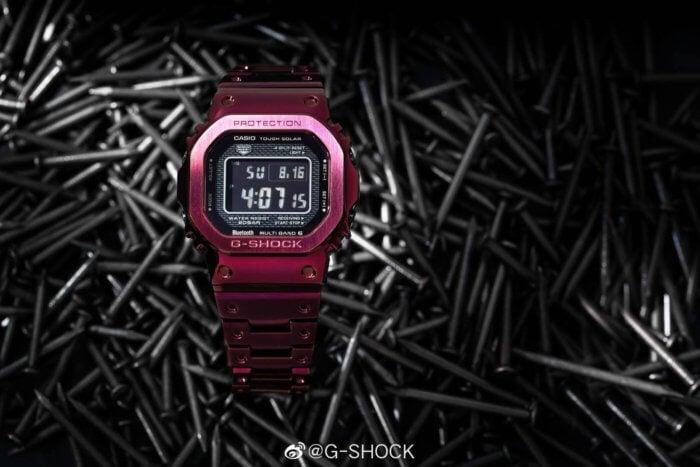 G-Shock GMW-B5000RD-4 Nails