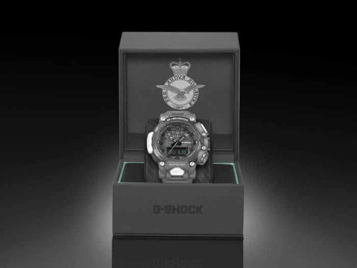 Royal Air Force x G-Shock GR-B200RAF-8AER Gravitymaster Display Box with Badge