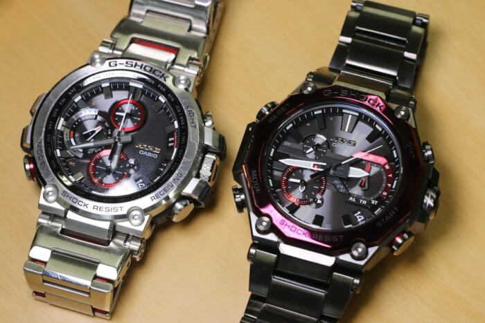G-SHOCK MTG-B1000 VS MTG-B2000
