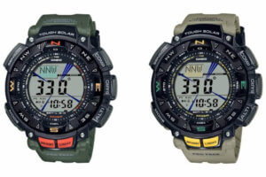 Casio Pro Trek PRG-240-3 and PRG-240-5
