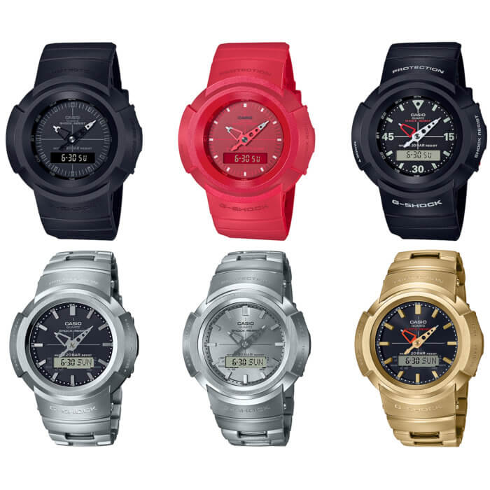 G-SHOCK AW-500 and Full Metal AWM-500 Series for 2020
