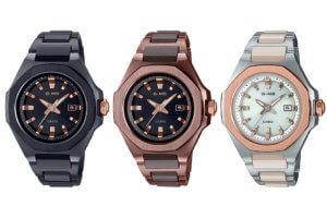 "The Baby-G MSG-W350 is like a metallic ""CasiOak"" for women"