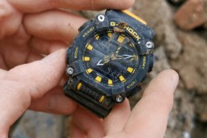 G-SHOCK GA-900 Construction Site Tests