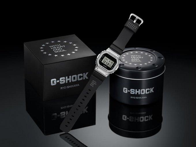 Ryo Ishikawa x G-Shock GM-5600RI20-1JR Collaboration Watch