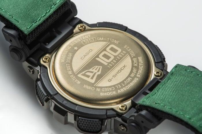 New Era x G-Shock GM-110 Collaboration for 2020 Case Back