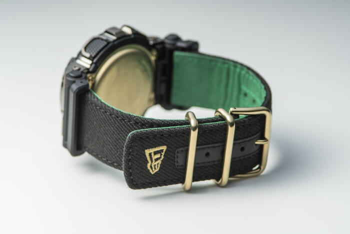 New Era x G-Shock GM-110 Collaboration for 2020 Cloth Band Back View