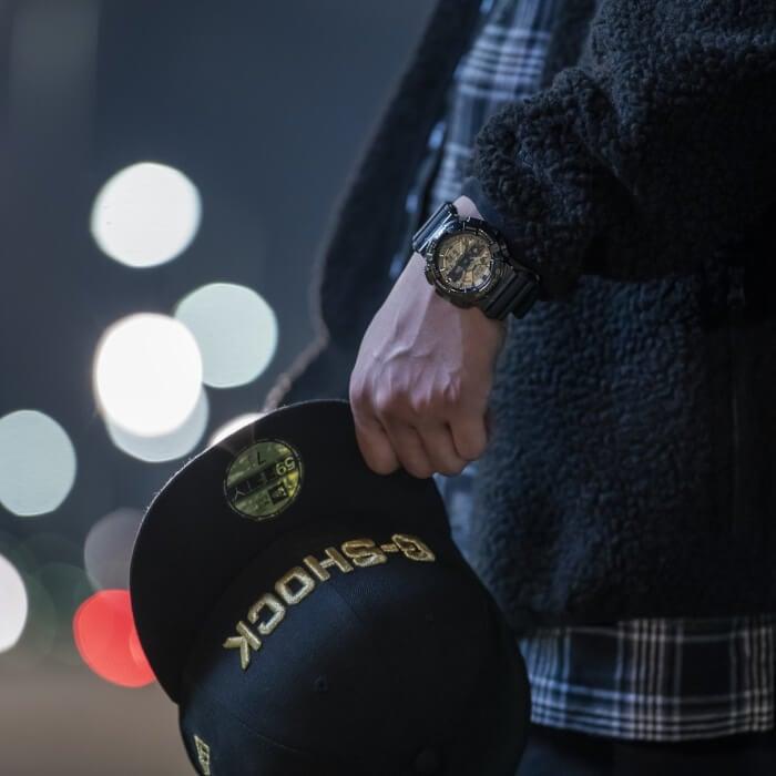 New Era x G-Shock GM-110 Collaboration for 2020 Wrist Shot