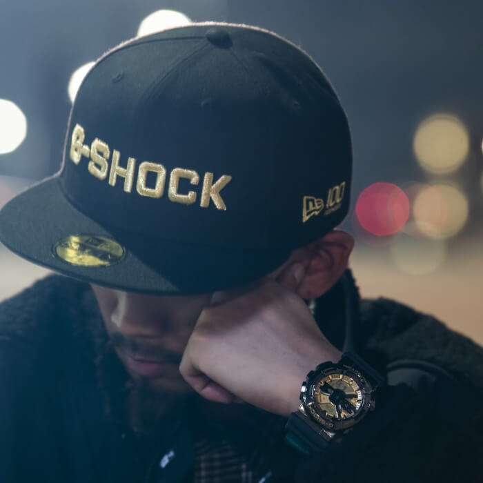 New Era x G-Shock GM-110 Collaboration for 2020 Wrist Shot and Cap