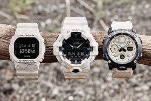 G-Shock GA-700WM-5A & GA-2000WM-1A Earth Tone Stratum Analog-Digital Watches