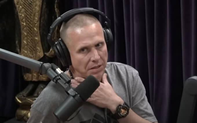 MMA coach Trevor Wittman wearing G-Shock GA-400