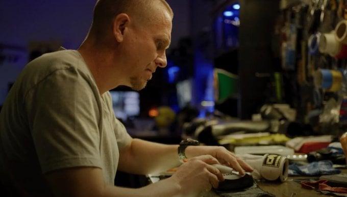UFC Coach Trevor Wittman wearing G-Shock GA-700