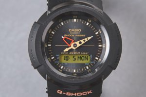 The United Arrows x G-Shock AWM-500 with Black IP