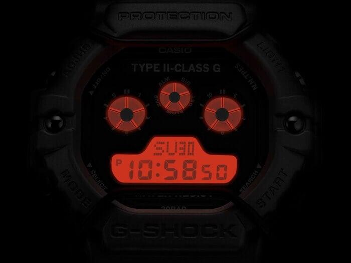 N. Hoolywood x G-Shock DW-5900NH-1 EL Backlight
