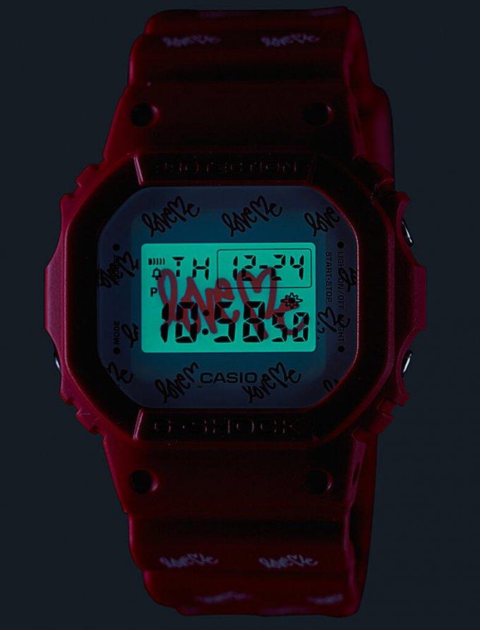 G-Shock DW5600LH-4 EL Backlight