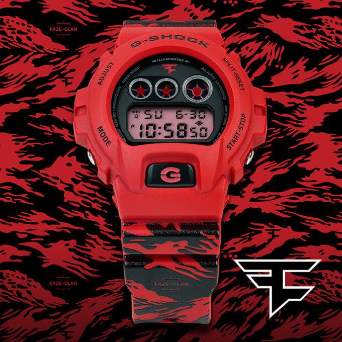 G-Shock DW6900FAZE20-4CR for FaZe Clan 10th Anniversary