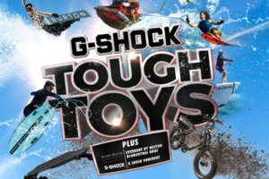 G-Shock Tough Toys Giveaway in Australia: Over $100K in prizes