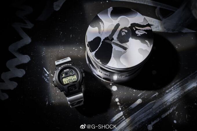 BAPE x G-Shock DW-6900BAPE20-1PFP Box