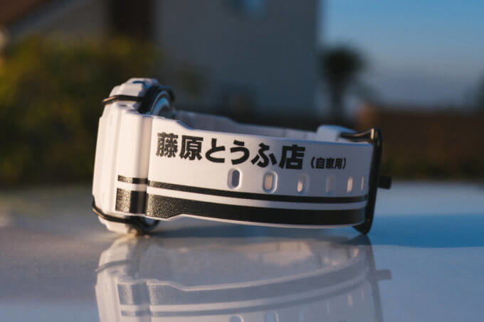 BAIT x Initial D x G-Shock DW5600BAIT20 Collaboration Watch Band