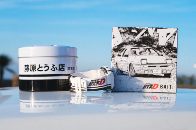 BAIT x Initial D x G-Shock DW5600BAIT20 Collaboration Watch Case and Box