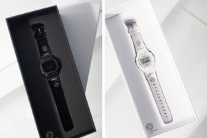 Earls x G-Shock DW-5600 Black and White 2020