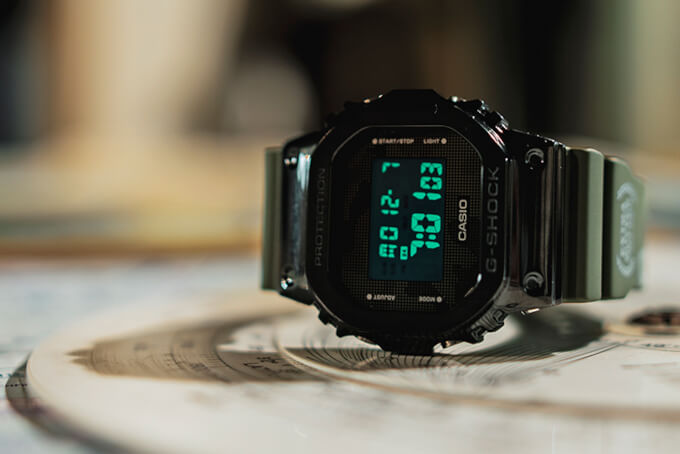 Extra Butter x G-Shock GM5600B-3EB in Tomcat Collection