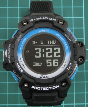 G-Shock GSR-H1000 Prototype Photos of Running Watch with Asics