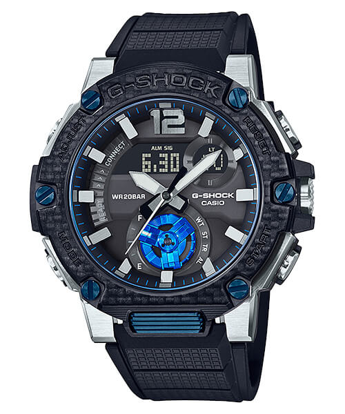 G-Shock GST-B300XA-1A with Sapphire Crystal and Carbon Bezel