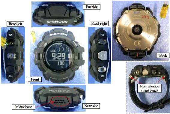 G-Shock G-SMART GSW-H1000 Prototype Photos