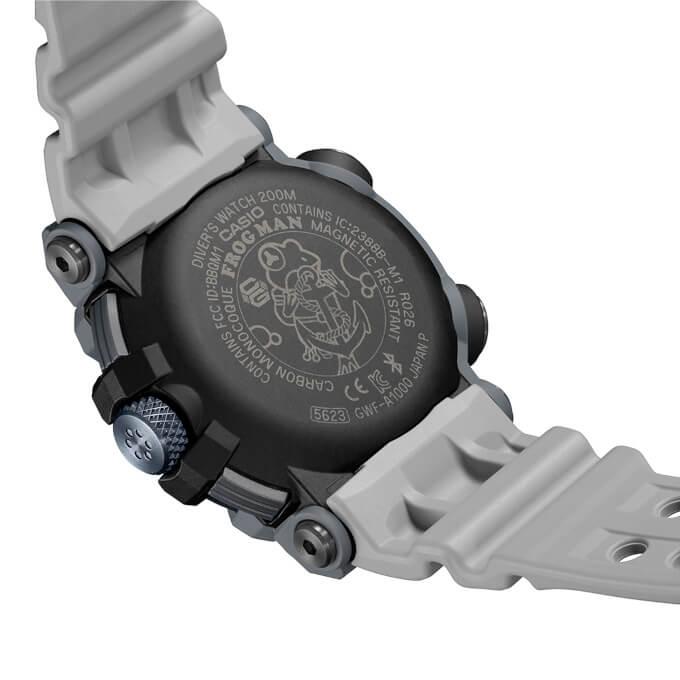 Royal Navy x G-Shock Frogman GWF-A1000RN-8A Case Back