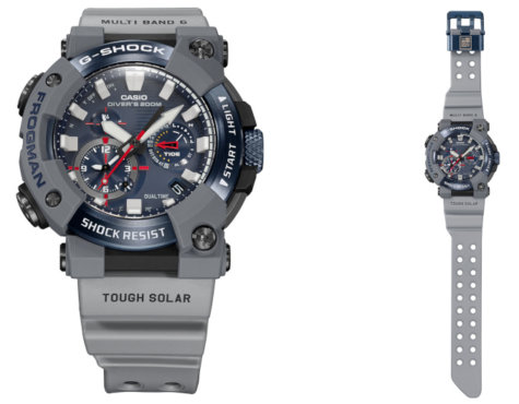 Royal Navy x G-Shock Frogman GWF-A1000RN-8A Collaboration Watch