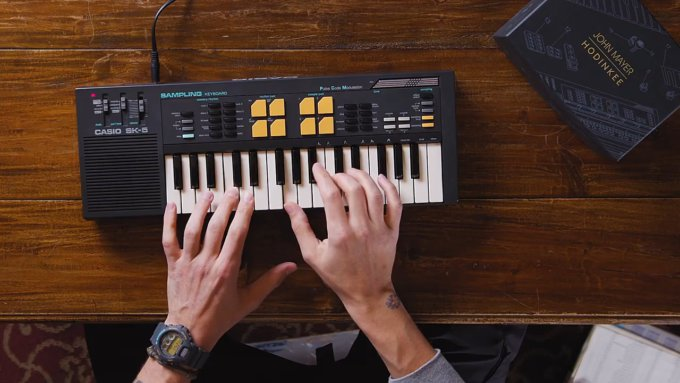 John Mayer x HODINKEE x G-Shock DW-6900 Collaboration Watch
