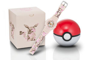 Pikachu x Baby-G BA-110PKC-4A Poke Ball Case and Box