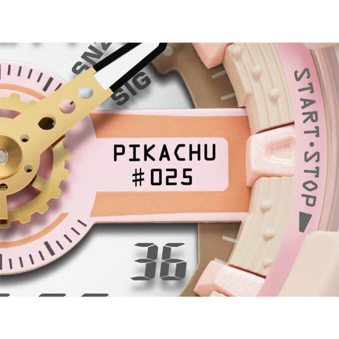 Pikachu x Baby-G BA-110PKC-4A Dial