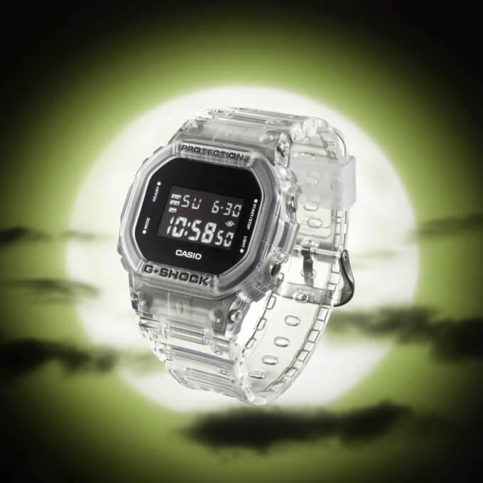 G-Shock DW-5600SKE-7 Angle