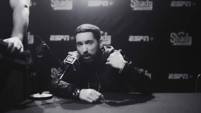 "Eminem wears G-Shock GM-110 wristwatch in ""Higher"" music video"
