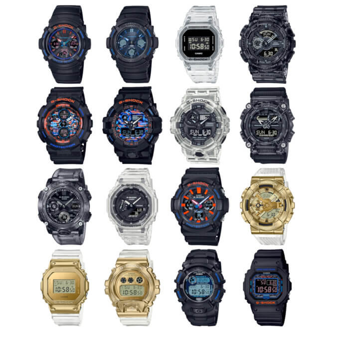 G-Shock February 2021 New Releases